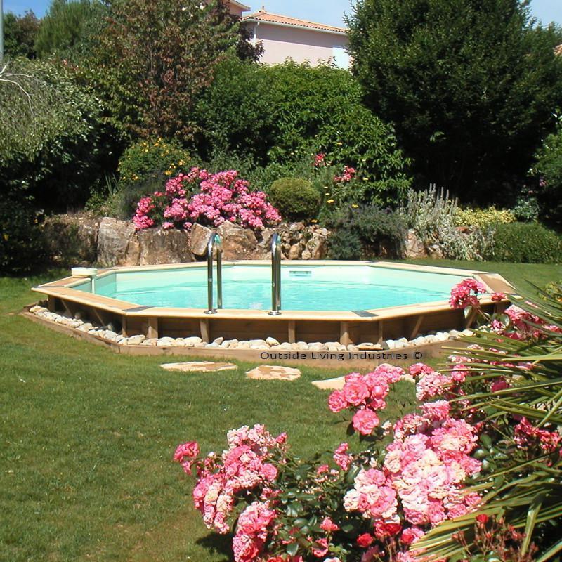 piscine c oca 580 liner sable. Black Bedroom Furniture Sets. Home Design Ideas