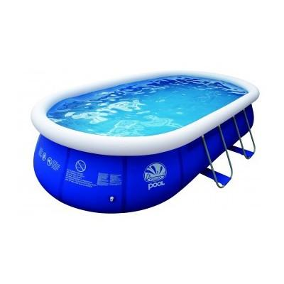 Cat gorie piscine gonflable du guide et comparateur d 39 achat - Piscine ovale gonflable ...
