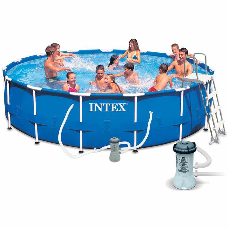intex piscine autoportante easy set 3 66 x h0 84m catgorie piscine gonflable. Black Bedroom Furniture Sets. Home Design Ideas