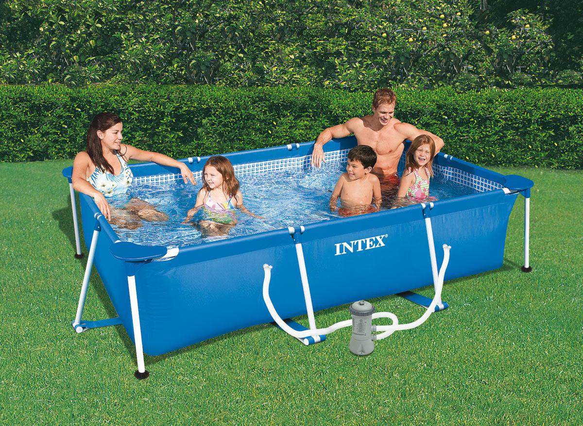 Intex piscine tubulaire ultra silver 9 75 x 4 88 x h1 32m catgorie piscine for Piscine tubulaire rectangulaire