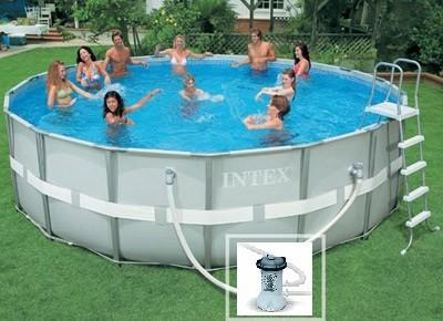 Cat gorie piscine du guide et comparateur d 39 achat for Piscine tubulaire grise