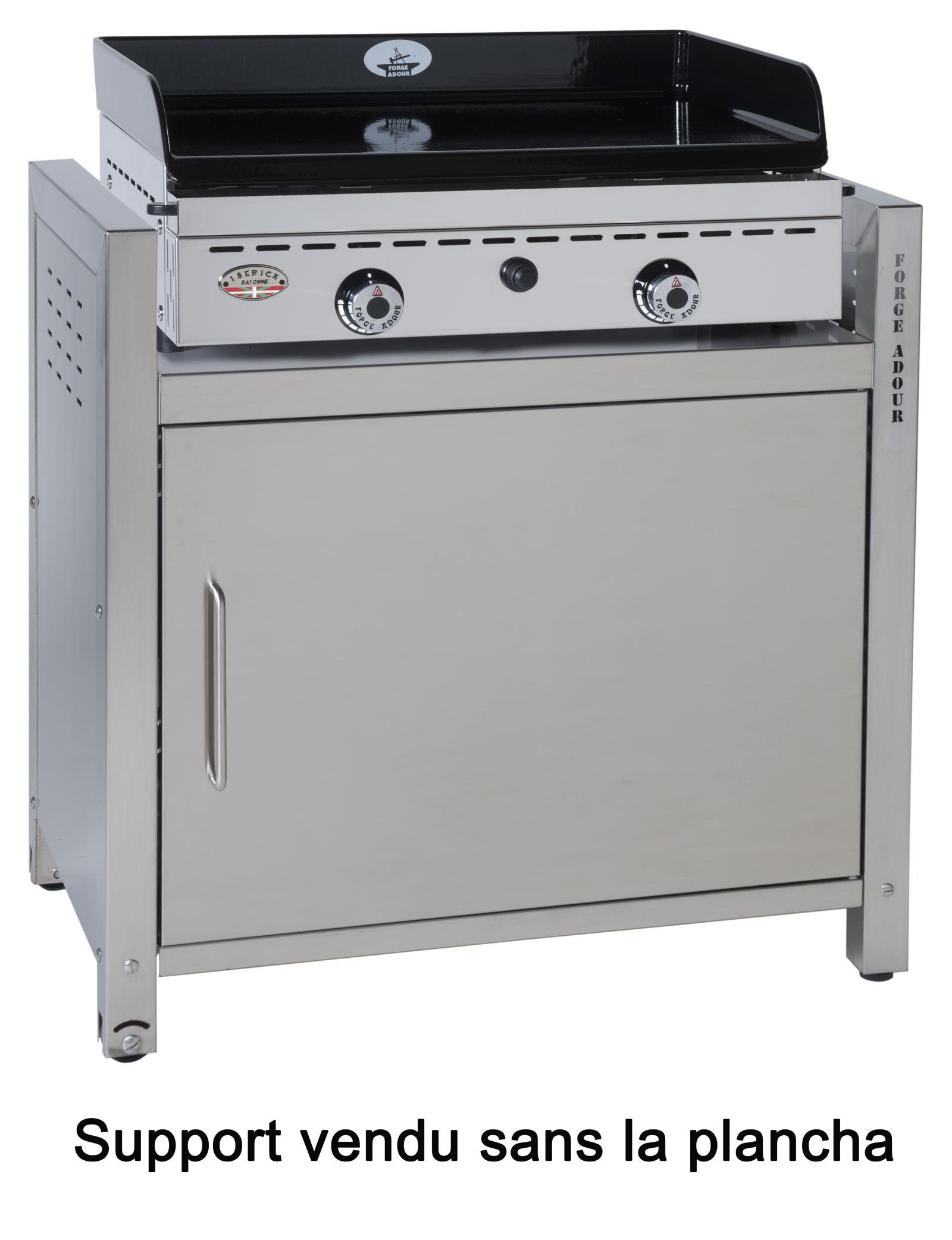 Plancha d 39 exterieur electrique top plancha for Cuisiner avec une plancha