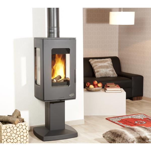 poele a bois godin 8kw. Black Bedroom Furniture Sets. Home Design Ideas