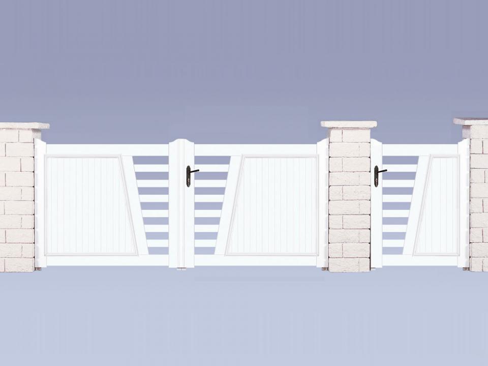 Catgorie portail du guide et comparateur d 39 achat for Petit portail de jardin en pvc