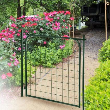 Catgorie portillon du guide et comparateur d 39 achat for Portillon jardin vert