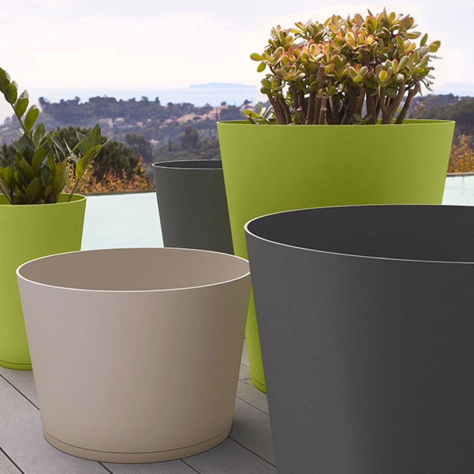 Catgorie pot de fleur du guide et comparateur d 39 achat for Pot de plante design