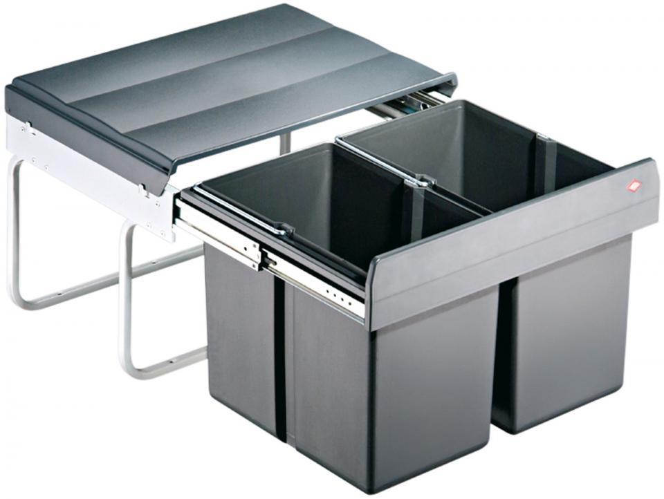 poubelle design cuisine wesco avec des. Black Bedroom Furniture Sets. Home Design Ideas