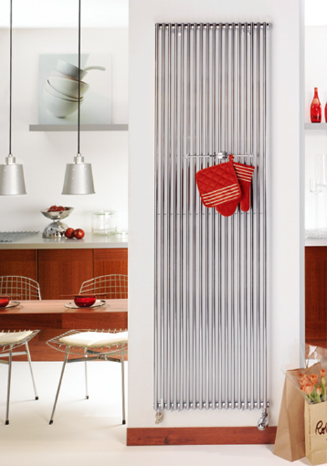 acova radiateur eau chaude k va chrom vertical simple. Black Bedroom Furniture Sets. Home Design Ideas