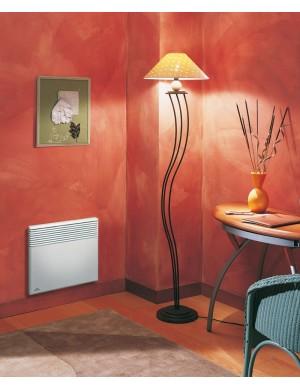 airelec convecteur electrique 500w 6 ordres blanc tactic. Black Bedroom Furniture Sets. Home Design Ideas