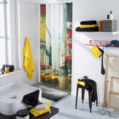 Catgorie rideaux de douche du guide et comparateur d 39 achat - Rideau de douche textile ...