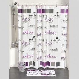 Catgorie rideaux de douche du guide et comparateur d 39 achat - Nettoyer rideau de douche plastique ...