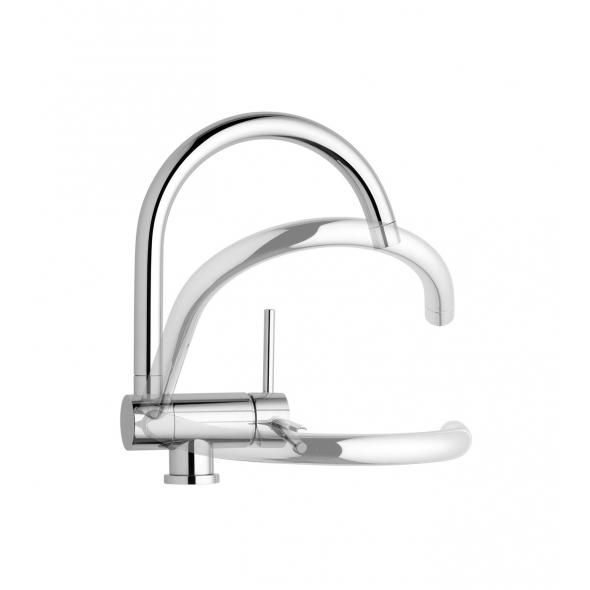 dcouvrez nos robinets dvier mitigeur eurosmart grohe mitigeur bec ud mitigeur rabattable grohe with grohe feel cuisine with grohe feel cuisine - Robinet Cuisine Rabattable Grohe