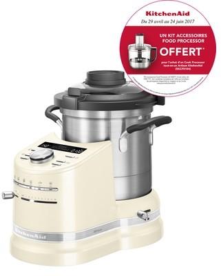 robot cuiseur cook processor artisan cr me 1500 w 5kcf0104eac 5 kitchenaid. Black Bedroom Furniture Sets. Home Design Ideas
