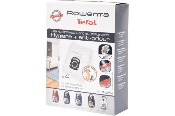 rowenta csac aspi 4 sacs haute filt hygi. Black Bedroom Furniture Sets. Home Design Ideas