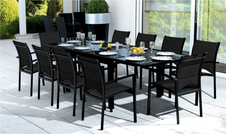 Cat gorie salon de jardin du guide et comparateur d 39 achat for Table exterieur rallonge aluminium