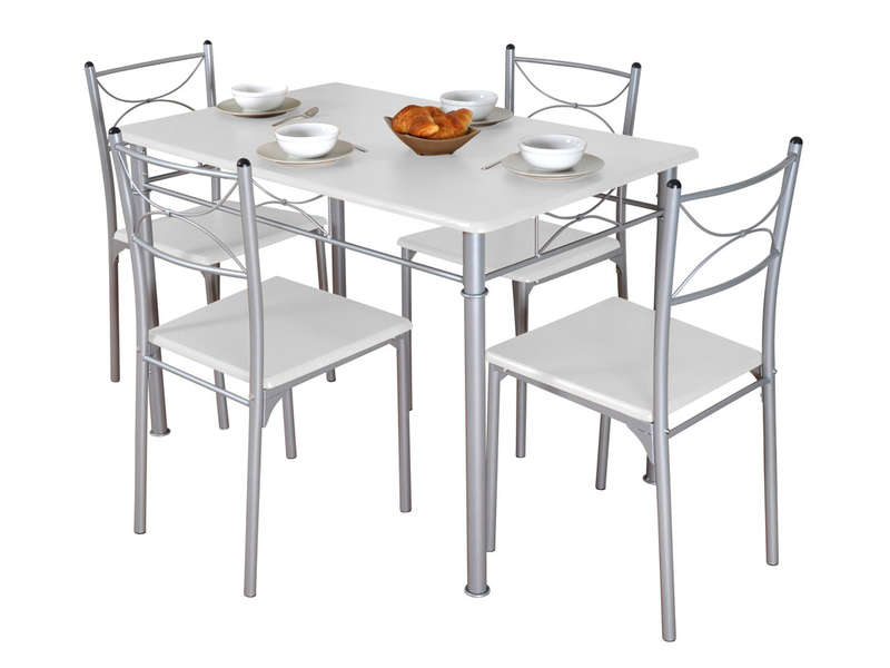 Table Vega Conforama. Cool Table Ronde Cuisine Conforama Chaise With ...