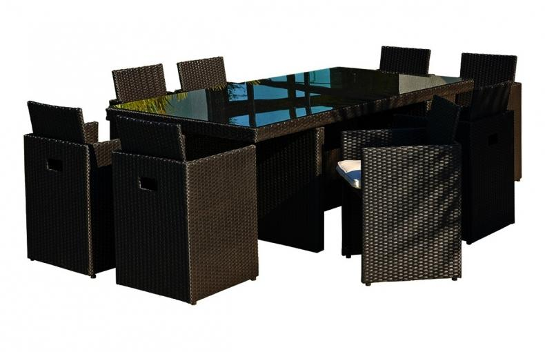 salon de jardin en pvc maison design. Black Bedroom Furniture Sets. Home Design Ideas
