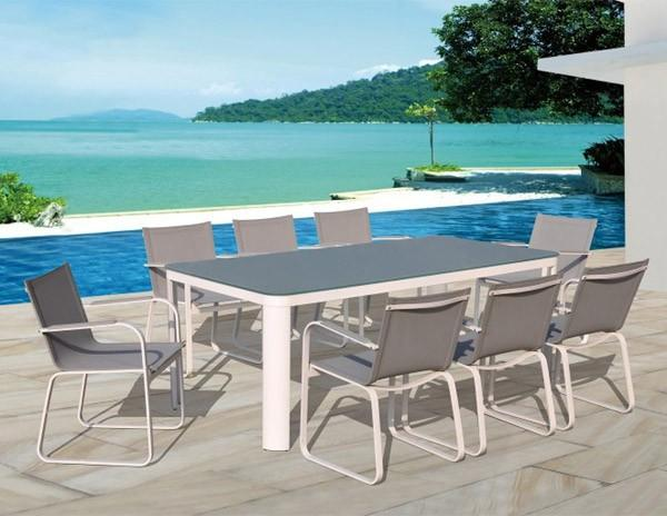 Beautiful Table De Jardin Plastique Couleur Taupe Images Amazing House Design
