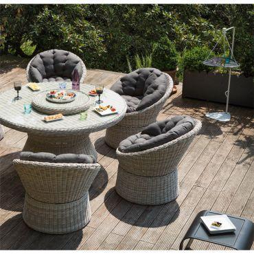 Petit Salon De Jardin Rond - Maison Design - Vicko.info