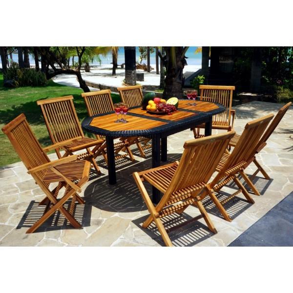 Emejing Housse Pour Table De Jardin En Teck Photos - Amazing Design ...