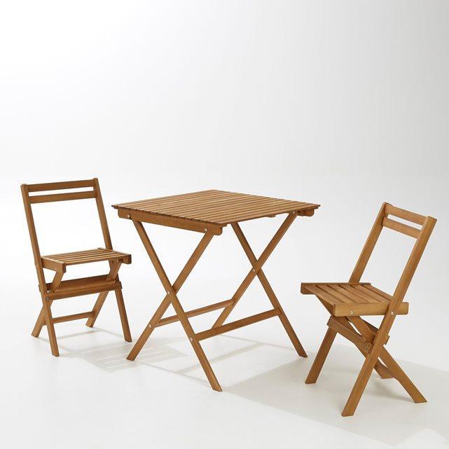 Chaise De Salon De Jardin En Acacia ~ Jsscene.com : Des idées ...