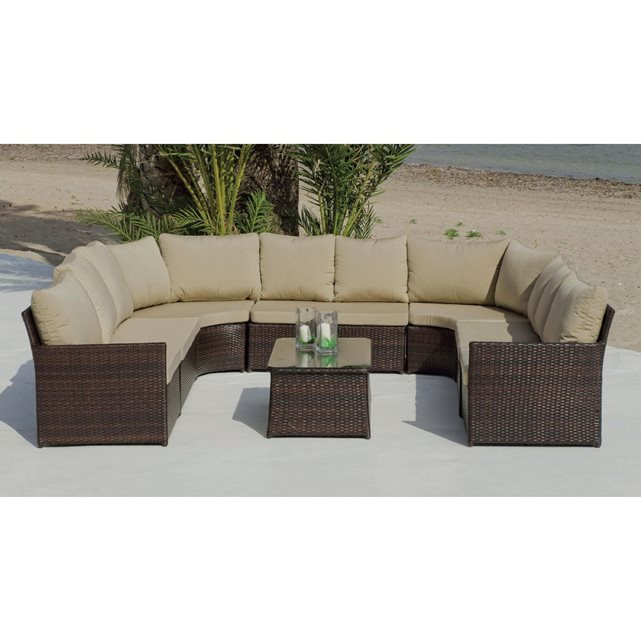 Hevea ensemble modulable jardin algarve for Hevea jardin