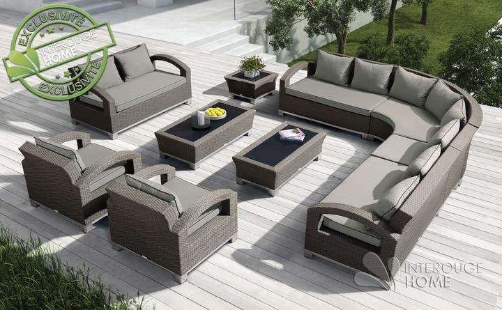 salon jardin teck luxe exterieur accueil design et mobilier. Black Bedroom Furniture Sets. Home Design Ideas