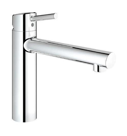 plomberie sanitaire chauffage robinetterie robinet pour lavabo et vasque mitigeur de lavabo grohe grohe mitigeur de lavabo concetto chrome - Schema Montage Robinet Grohe