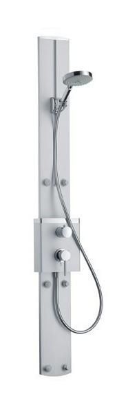 hansgrohe c raindance duschpaneel complet apparent nr 270050. Black Bedroom Furniture Sets. Home Design Ideas
