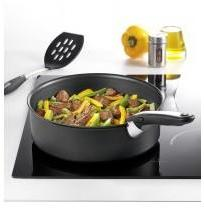 tefal c4003202 sautepan 24cm lid ceramique induction. Black Bedroom Furniture Sets. Home Design Ideas
