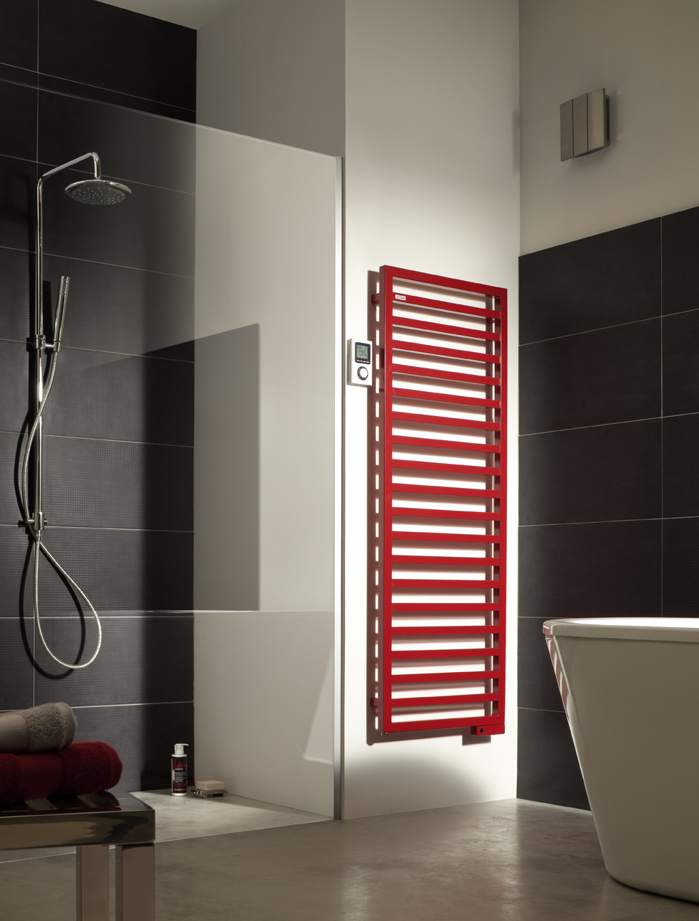 acova ckarena spa couleurs vertical 50x175cm 750w cat gorie s che serviette. Black Bedroom Furniture Sets. Home Design Ideas