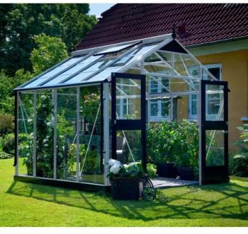 Serre De Jardin Aluminium Et Verre. Serre De Jardin Aluminium Et ...