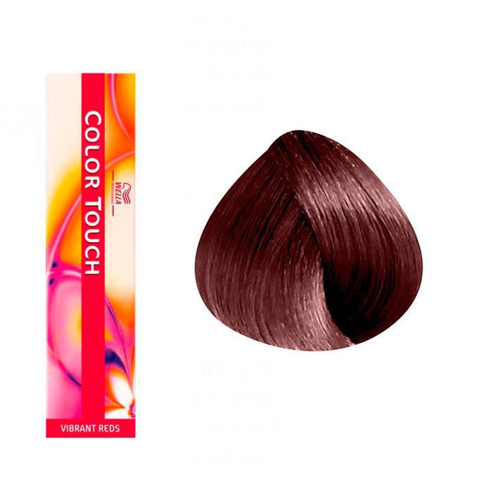 ccolorations vibrant reds 457 chtain acajou - Color Touch Wella Mode D Emploi