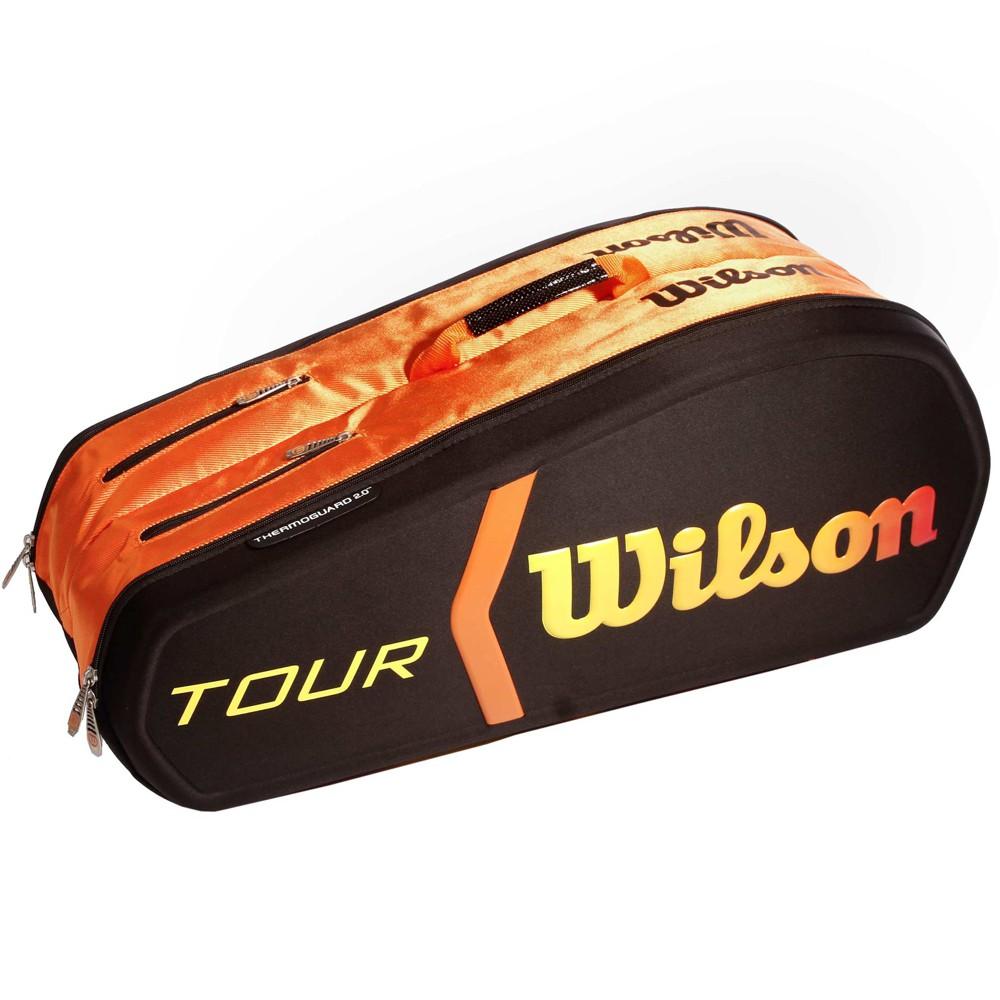 wilson sac burn tour molded 9 noir orange. Black Bedroom Furniture Sets. Home Design Ideas
