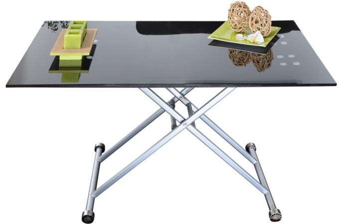Table basse relevable fly for Table basse tablette relevable