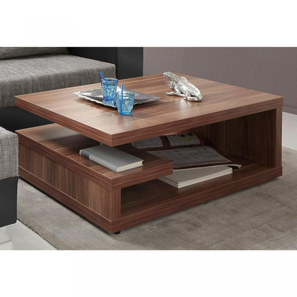 Table basse design a roulettes - Table basse rectangulaire design ...