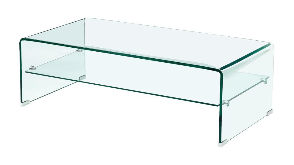 Tables basses de salon en verre table basse 3 plateaux - Table italienne en verre ...