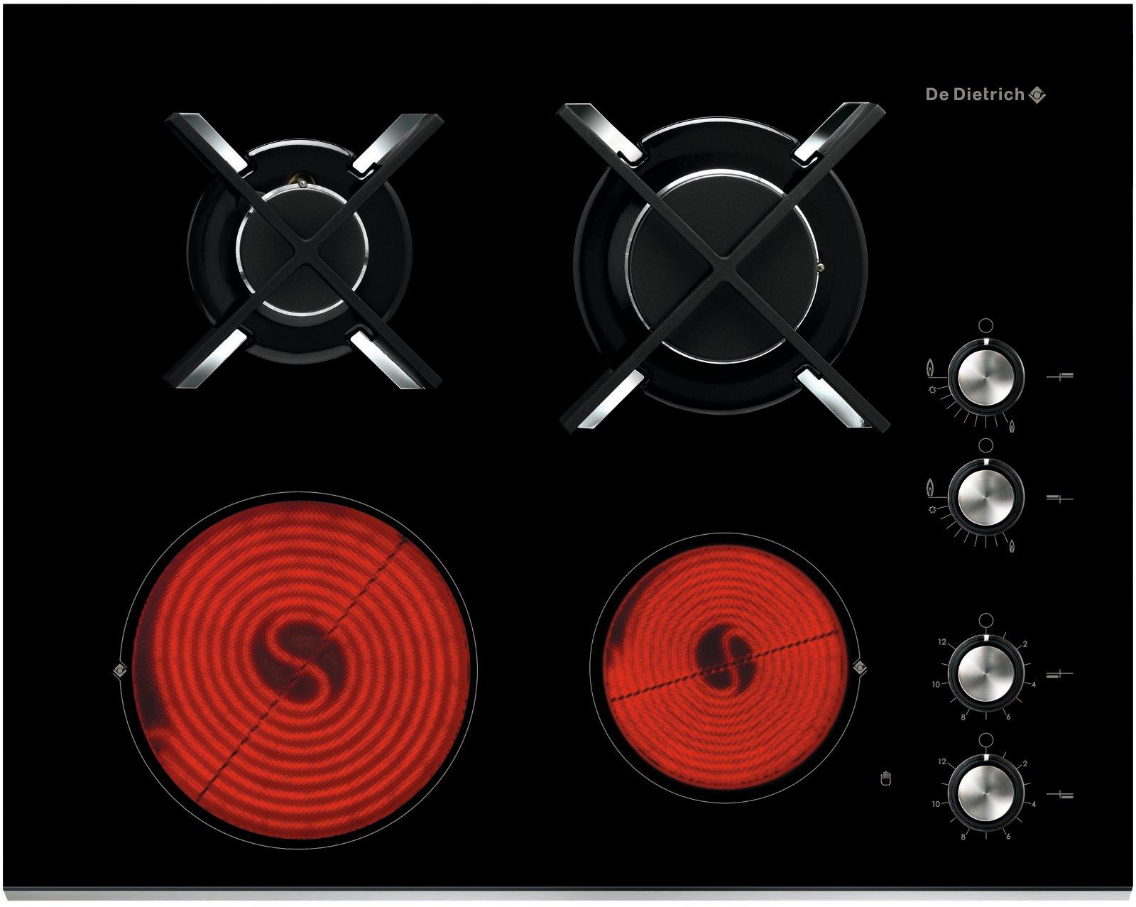 Comparatif Plaque Mixte Induction Gaz de dietrich dtg 1115 x