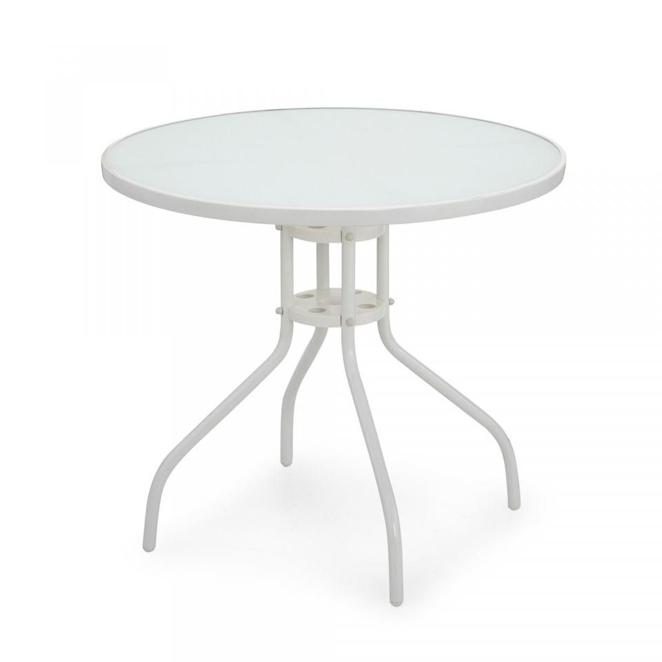 Stunning nettoyer table de jardin blanche contemporary amazing house design Table de jardin aluminium blanche