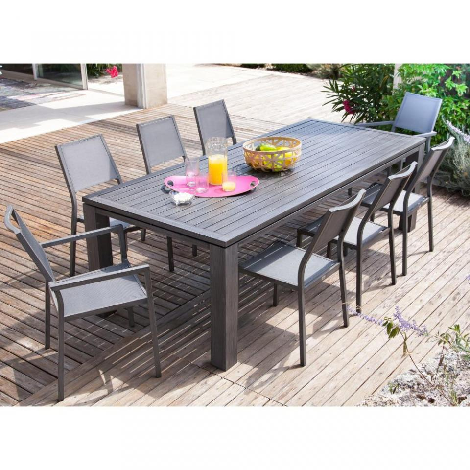 table de jardin en soldes maison design. Black Bedroom Furniture Sets. Home Design Ideas