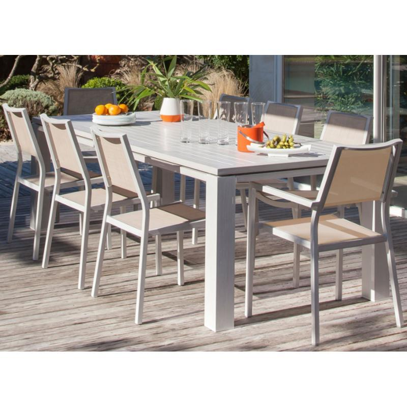 Table De Jardin Extensible Design Des