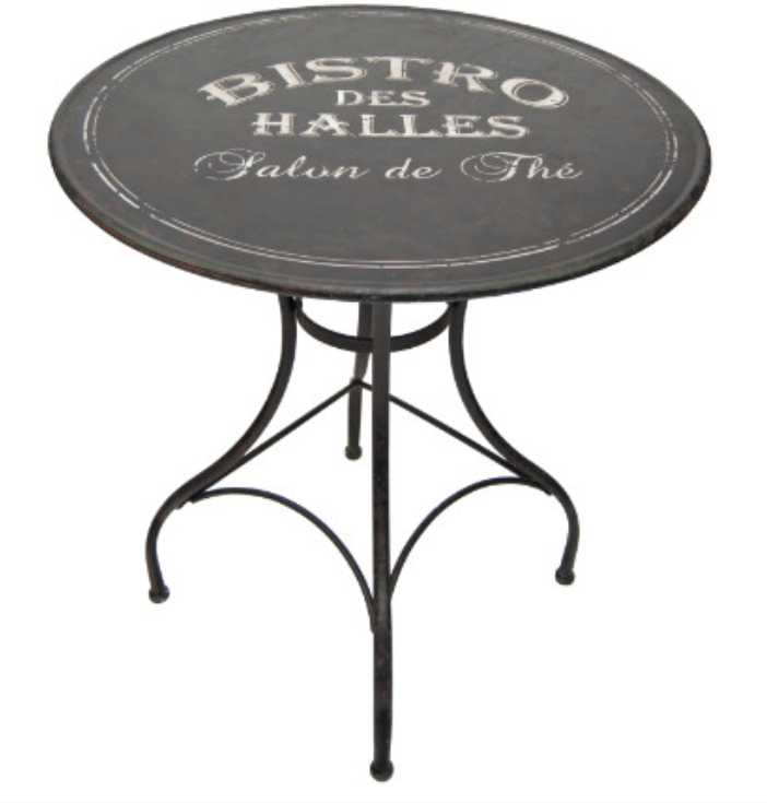 Table Bistrot Pliante Ronde :: Dragonsfootball17