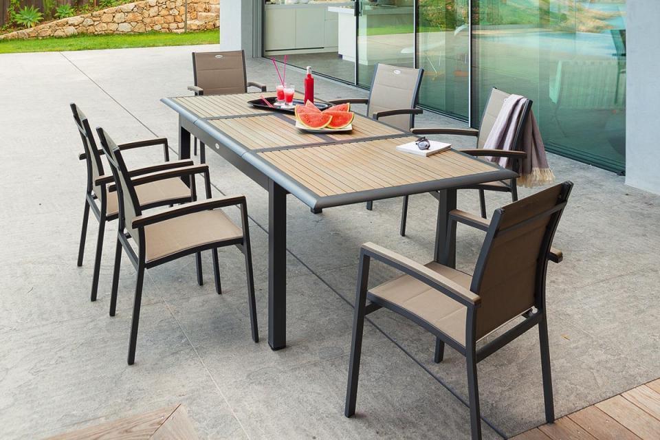 Catgorie table de jardin du guide et comparateur d 39 achat for Table de jardin hesperide