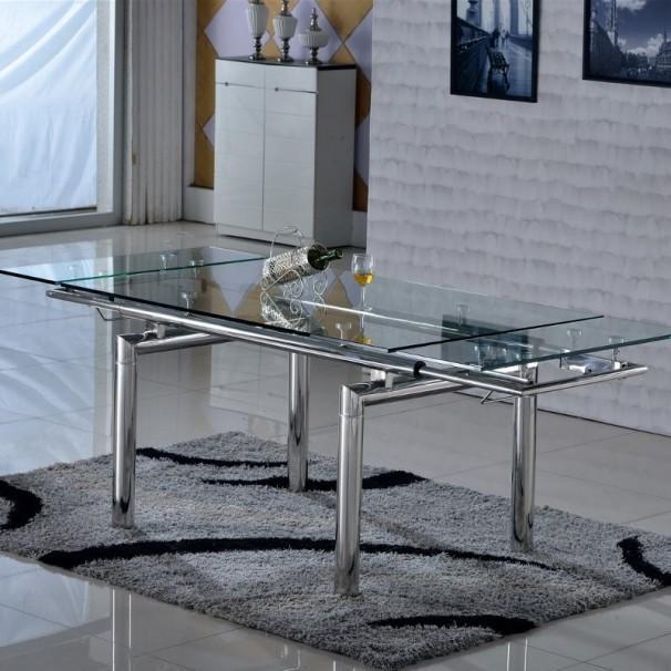 Table En Verre Ronde Extensible: Pied De TABLE Guide D'achat
