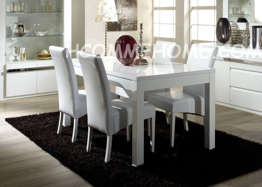 Salle blanche guide d 39 achat for Table de salle a manger dimension