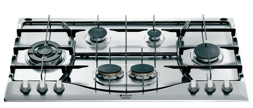 table de cuisson gaz 5 feux inox 90 cm maison design. Black Bedroom Furniture Sets. Home Design Ideas
