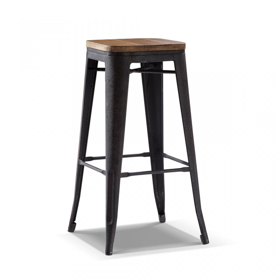 tabouret de bar rustique maison design. Black Bedroom Furniture Sets. Home Design Ideas