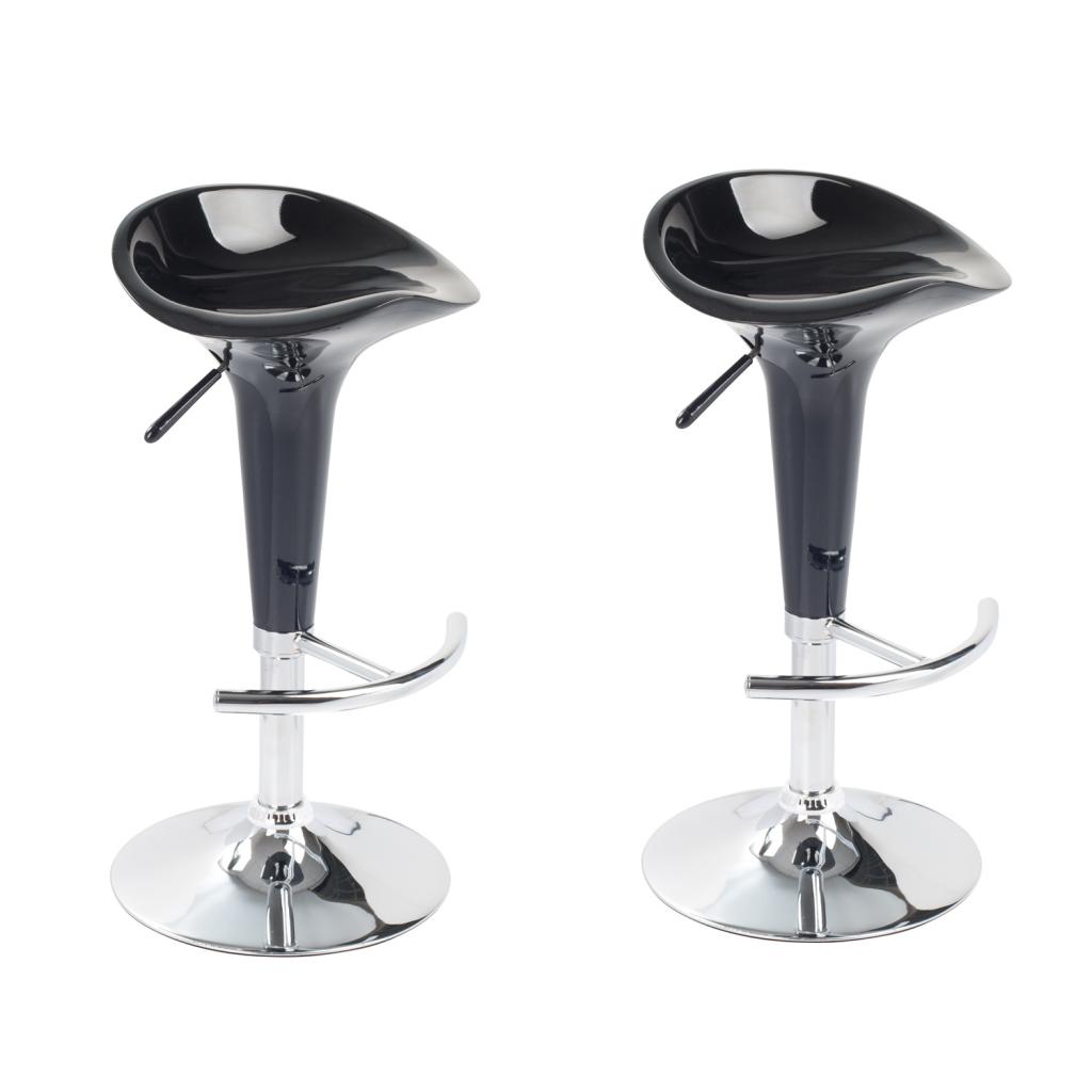 vidaxl c tabouret design rocket lot de 2. Black Bedroom Furniture Sets. Home Design Ideas
