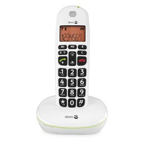 phoneeasy 100w tlphone sans fil dect prnumrotation mains. Black Bedroom Furniture Sets. Home Design Ideas