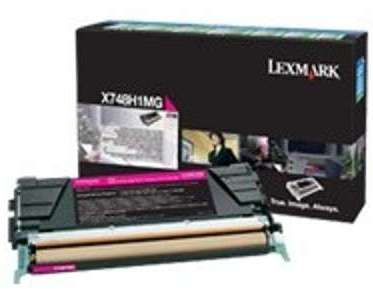 toner lexmark magenta pour x746 x748 7 000 pages lrp pour imprimante lexmark x746de x746a1mg. Black Bedroom Furniture Sets. Home Design Ideas